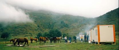 Les plaisirs de la base vie montagne à partager avec tous ses<br /><br /><br /><br /><br /><br /><br /> occupants