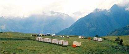 Base vie complète et autonome en montagne