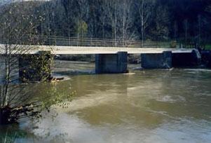 construction d'un pont avec 3 piles