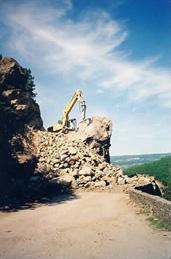 Déroctage au BRH 4,5 tonnes