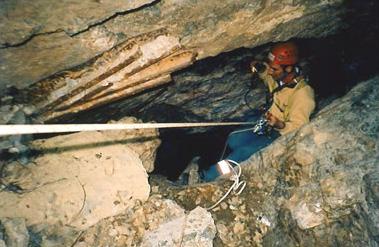 Inspection du débourrage d'un puits de mine de grande profondeur