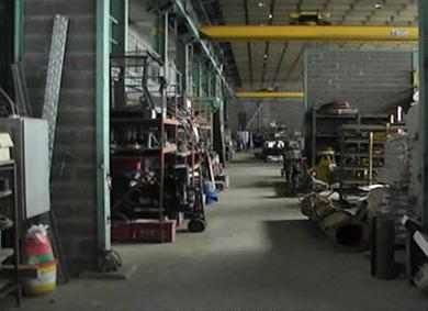 Magasin et atelier mécanique