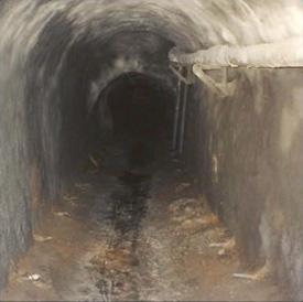 séparation des réseaux eaux usées et pluviales, confortement, injection et drainage