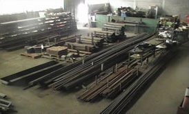 Stock permanent de barres et tubes pour ancrages et micropieux (environ 15 000m)