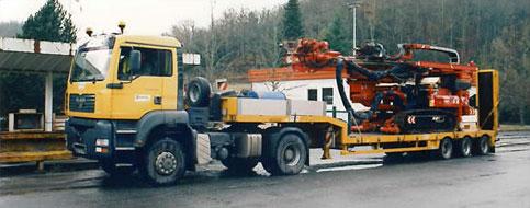 transfert foreuse 23 tonnes