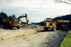 travaux-terrassement - Pelles, tombereaux, compacteurs…