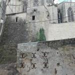 Cathédrale de Bazas (33) - Confortement du socle rocheux